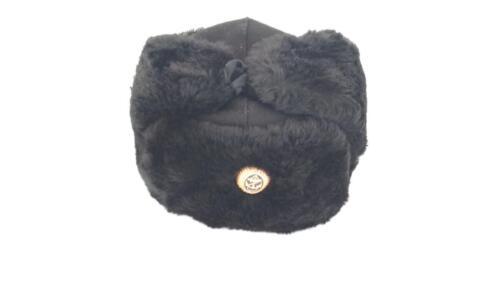 Шапка зимняя с кокардой (натуральный мех)